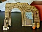 Lenox Little Town of Bethlehem Nativity Stable Mint Condition with Box