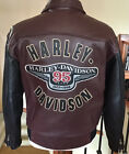 New HARLEY DAVIDSON Mens Size LARGE 95 Year Anniversary Leather Jacket Mint