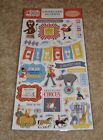 Carta Bella Adhesive Chipboard Accents The Circus