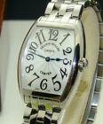 FRANCK MULLER STAINLESS STEEL CINTREE CURVEX WOMEN's 29mm WATCH BOX/PP 7502QZ
