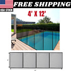 4 x 12 Swimming Pool Fence Garden Patio Child Barrier Fence Easy Installation