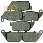 F+R Brake Pads For Harley XL 883 R Sportster (05-14) XL 1200 R Roadster (04-08)