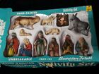 Vintage Nativity Set Scene Hand Painted Figures West Germany 1960s K Mart