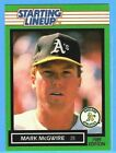 1989 KENNER STARTING LINEUP LOOSE MARK McGWIRE FIGURE W Card OAKLAND A'S