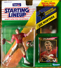 Starting Lineup Joe Montana And Steve Young 1992 49er's NFL Kenner, NEW Vintage