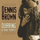 DENNIS BROWN - Dubbing At King Tubby's - CD - Live - **Excellent Condition**