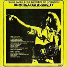 FRANK ZAPPA - Unmitigated Audacity - CD - Live - **Mint Condition**