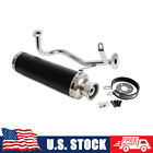 Performance Exhaust Muffler For 4 Stroke GY6 50CC 139QMB 1P39QMB Scooter Moped
