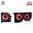 New CPU+GPU Cooling Fan for MSI GS63VR GS73VR Stealth Pro Series 4 Pin