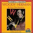 WOODY HERMAN - Immortal Concerts - CD - Live - **BRAND NEW/STILL SEALED** - RARE