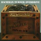 BACHMAN-TURNER OVERDRIVE - Not Fragile / Four Wheel Drive / Bachman Turner NEW