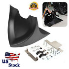 Chin Fairing Front Spoiler Mudguard Fit Harley Dyna Fatboy Softail Touring Glide