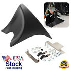 Chin Fairing Front Spoiler Black Fit Harley Sportster Softail Dyna Touring Glide