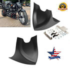 Chin Fairing Front Spoiler For Harley Touring Sportster Dyna 2004-2017 USA Stock