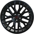 4 G43 FLARE 20 inch Matte Black Rims fits CADILLAC DTS PERFORMANCE PKG 2008