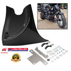 Motorcycle Chin Lower Fairing Front Spoiler Air Dam Cover For Harley Dyna Fatboy
