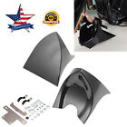 Fairing Front Spoiler Black For Harley Sportster Softail Dyna Touring Glide US