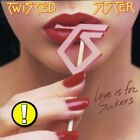 TWISTED SISTER - Love Is For Suckers - CD - Import - **BRAND NEW/STILL SEALED**