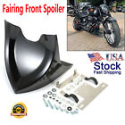 Fairing Front Spoiler Mudguard For Harley Dyna Fatboy Softail Touring Glide USA