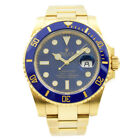 Rolex Submariner 116618LB - 18k Yellow Gold with Blue Dial 2019