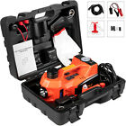 Car Jack 12V DC 5 Ton Electric Hydraulic Floor Lift Jack Tire Inflator Pump Tool