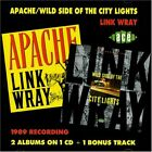 LINK WRAY - Apache / Wild Side Of City Lights - CD - Import - RARE