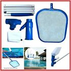 Swimming Pool Vacuum Skimmer Cleaner Above Ground Head Pole Net Kit For Cleaning
