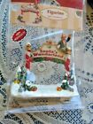 LEMAX  VILLAGE ACCESSORY 2006 SANTA'S WONDERLAND entry sign figurine NIP