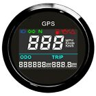 52mm Motorcycle Moped Scooter GPS Electronic Speedometer 0 999 MPH Digital LCD