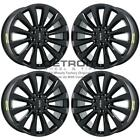 22 LINCOLN NAVIGATOR GLOSS BLACK EXCHANGE WHEELS RIMS FACTORY OEM 10177 2005