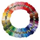 24-250PC Colour Egyptian Cotton Embroidery Cross Stitch Thread Floss Hand Skeins