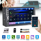 7 Double 2 DIN Car Stereo Radio BT MP5 Player USB AUX TF Mirror Link Dash Parts