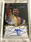 2011 Topps Marquee Manny Pacquiao Auto 37 50 Boxing On Card