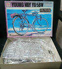 Otaki Bridgestone Young Way YG-5BW Bicycle 1/6 scale Model Kit Rare Item