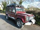 LAND ROVER DEFENDER 110 TD5 DOUBLE CAB COUNTY EXPEDITION CAMPER