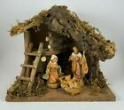 Fontanini Heirloom Nativity Scene Set W Stable And 3 Pc Holy Family 54518