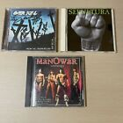 Overkill – From The Underground And Below CD - Band Autographed Signed