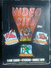 1983, Topps, Video City, 36 Pack, Wax Box,