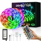 DAYBETTER Led Strip Lights 328ft Waterproof 328ft Rgb Red Green Blue