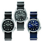 Seiko 5 Sports Men's Automatic Watch Nylon Strap with Stainless Steel Case
