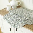 William Morris Willow Bough Green Quilted Cotton Floral Placemats