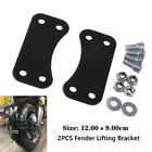 2PCS Metal Iron Motorcycle Front Fender Risers/Lift Brackets Part for 21
