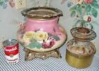 Pretty c 1900 Victorian Parlor GWTW Banquet Lamp Base Good Consolidated FONT