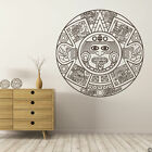 Aztec Calendar Center wall decal ancient native art Mexican home decor K792