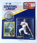 1991 MARK MCGWIRE Oakland Athletics A's Starting Lineup with coin n card VG cond