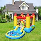 Kids Play Inflatable Bounce House Slide Game Jumping Castle w balls Pool