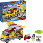 LEGO City Great Vehicles Pizza Van Food Truck  Moped 249 Piece Building Set Kit