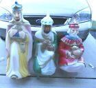 General Foam 3 Large Wise Men Christmas Nativity Lighted Outdoor Blow Mold Set