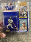 1990 RICKEY HENDERSON SEALED KENNER STARTING LINEUP MINT FIGURE AND CARDS~HOF!
