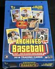 1 - NEW UNOPENED FACTORY SEALED 2018 TOPPS ARCHIVES BASEBALL HOBBY BOX 2 Autos